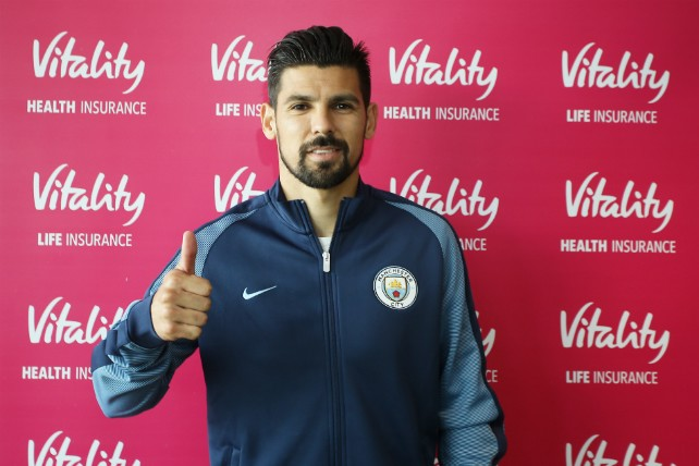 NEW RECRUIT: Nolito signs on a four year deal.