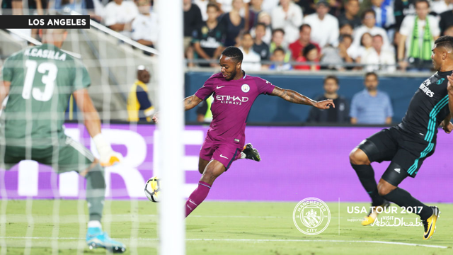 HEEMEO: Raheem scores against Madrid
