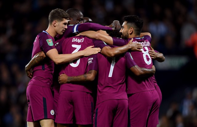 GOALS GALORE: City have bagged 52 in 17 games so far this season!