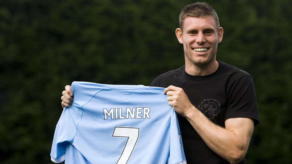 newest 36f1f d1025 New Man City midfielder James Milner wants the Premier ...