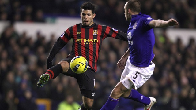 Aguero Action Everton
