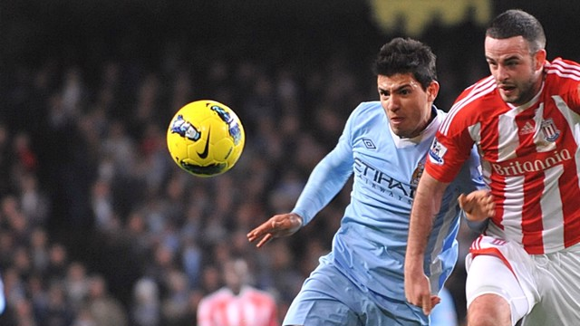 Aguero Action Stoke