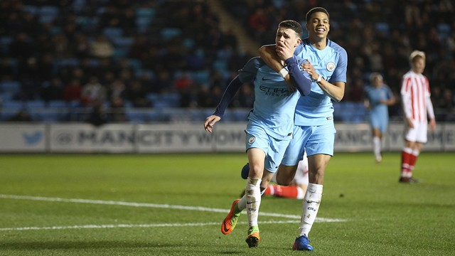 STRIKE: The best of the goals from our Academy stars.