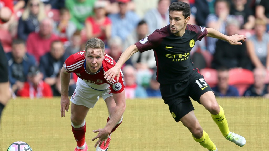 DOWN THE LINE: Navas looks to get beyond Adam Forshaw