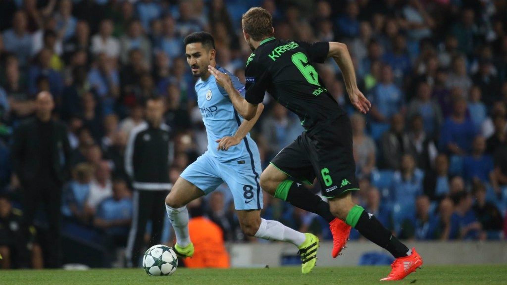 DREAM DEBUT: Ilkay Gundogan's first game in a City shirt left fans in awe