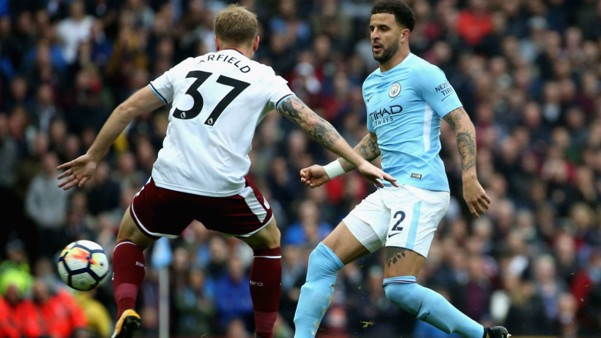 SPECIAL K: Kyle Walker gets City motoring forward