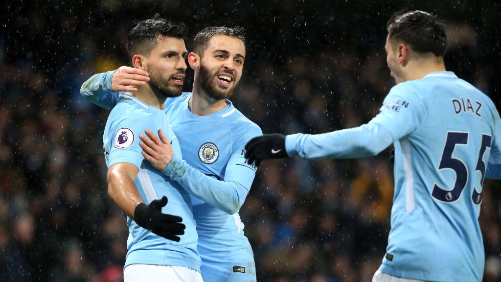 HOME AND HOSED: City brush aside the Baggies to restore the gap at the top of the Premier League to 15 points.