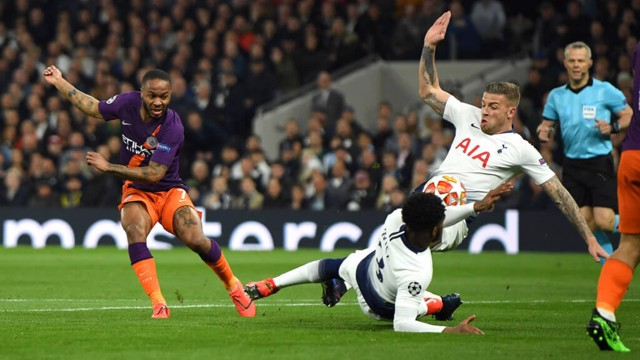 VAR: Raheem Sterling's shot hits off Danny Rose's arm