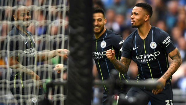 FINAL: Gabriel Jesus scored the winner as City booked a place in the FA Cup final