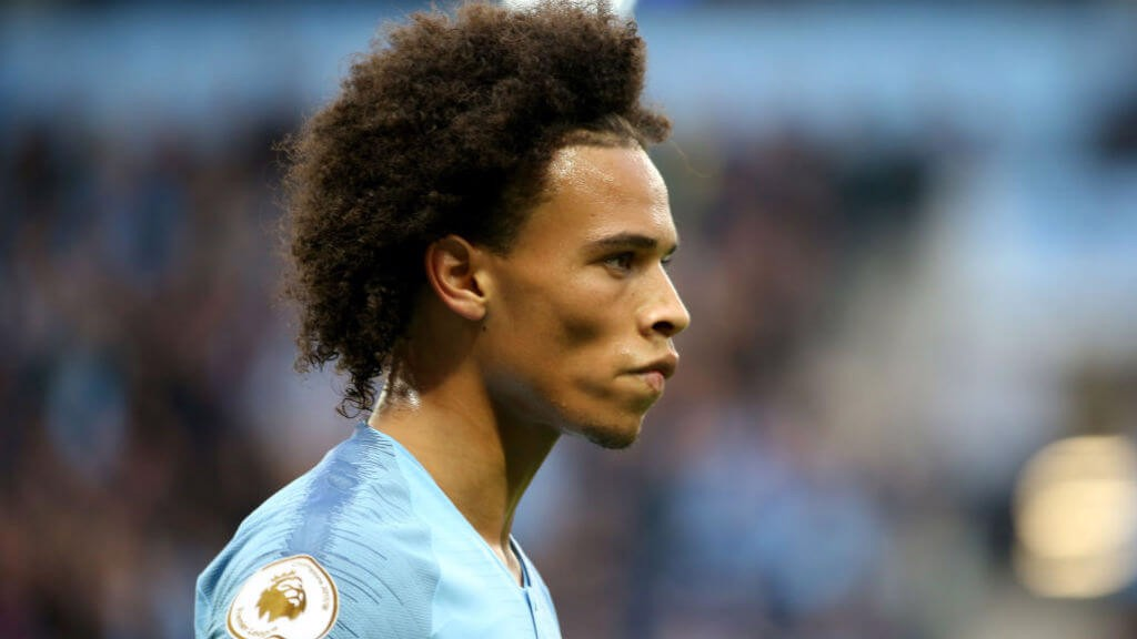 IN SANE: Leroy was outstanding on his return to the starting XI