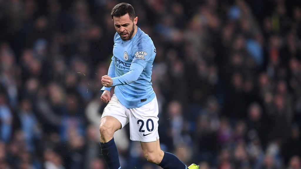 GAME-CHANGER: Bernardo won a penalty moments after coming on as a sub