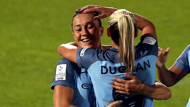 BRONZE METTLE: Lucy Bronze is edging closer to another title