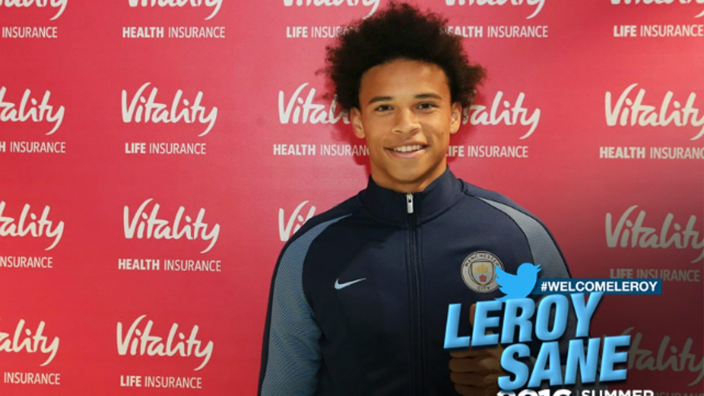 WELCOME LEROY: Sane made his Germany debut just over two months after his first U21 appearance.