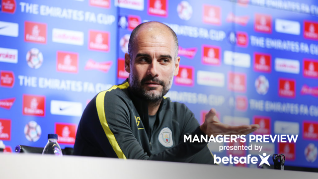 FA CUP STATE OF MIND: Pep speaks to the media ahead of our FA Cup 5th round replay against Huddersfield.