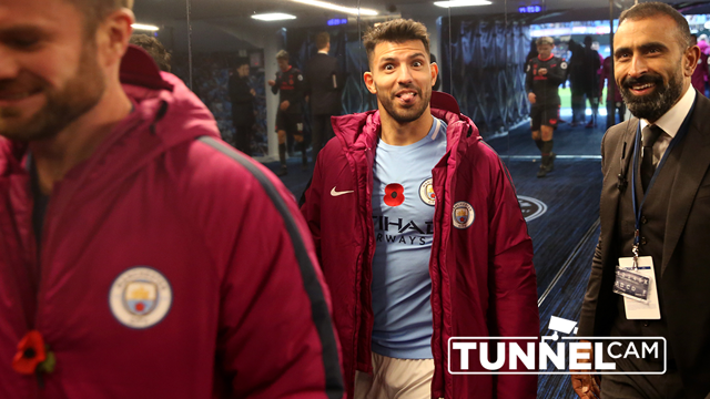 TUNNEL CAM: Man City v Arsenal