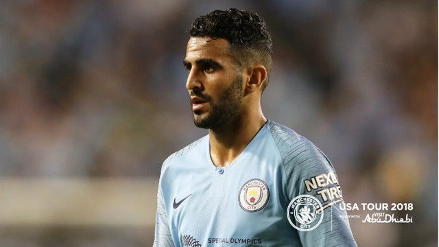 US TOUR 2018: Riyad Mahrez spoke to CityTV after the defeat to Dortmund in Chicago