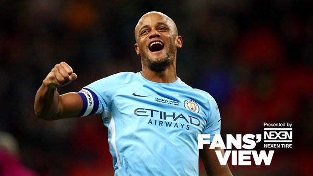 BLUE ARMY: View the fans' view of events at Wembley Stadium, courtesy of Nexen