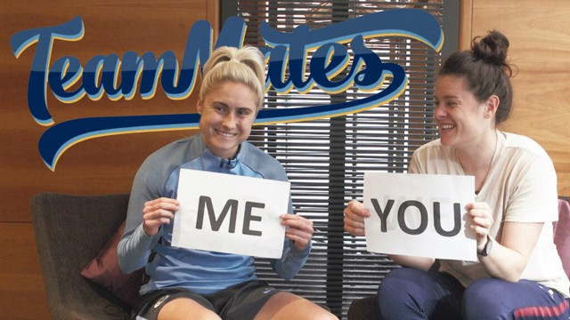 TEAMMATES: How well do Steph Houghton and Jen Beattie know each other?