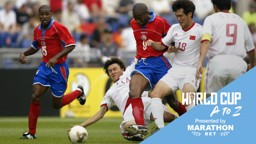 FORWARD MARCH: Paulo Wanchope figured in two World Cup finals for Costa Rica