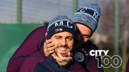 TEAM SPIRIT: Bernardo Silva and Ederson