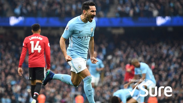 ILKAY GUNDOGAN: Best moments...