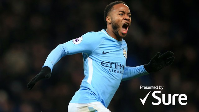 SEASON TO REMEMBER: Raheem Sterling enjoyed a magnificent campaign for Manchester City