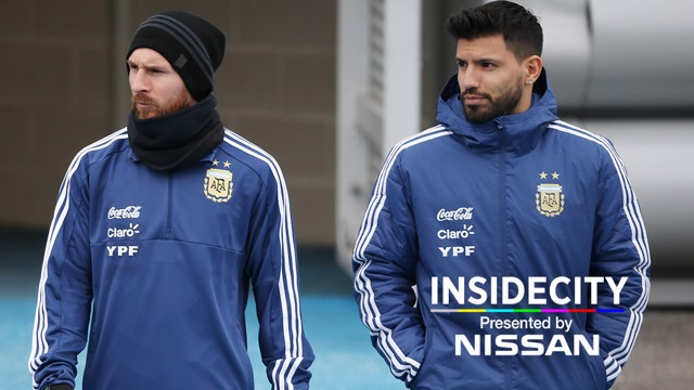 INSIDE CITY: A behind-the-scenes look at Lionel Messi's week at the CFA