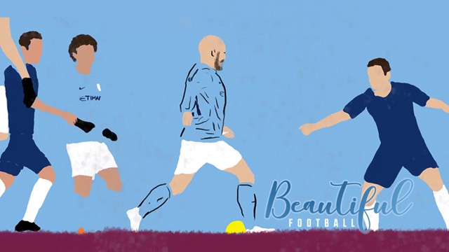 BEAUTIFUL FOOTBALL: Pep talks about the simplicity of effective football