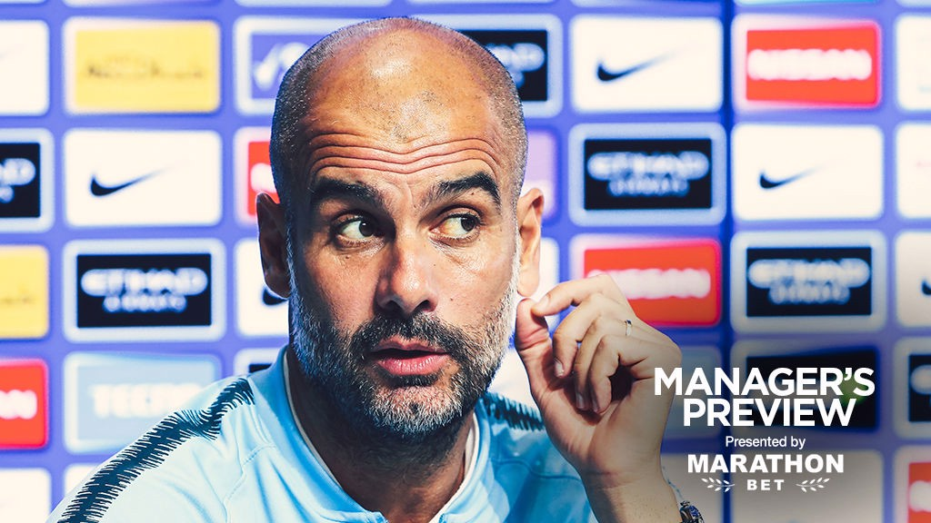 PREVIEW: Pep addresses the media ahead of City's game against Cardiff.