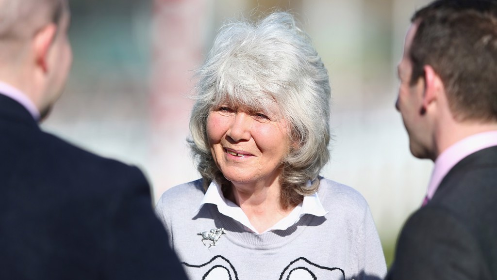 Best-selling author and Keanu sponsor Jilly Cooper