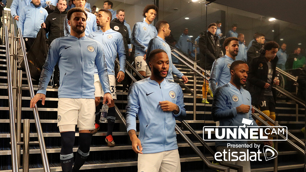 TUNNEL CAM: City 3-0 Wolves.